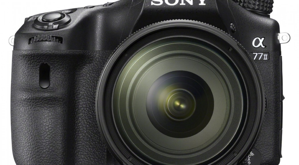 sony a77II digital camera